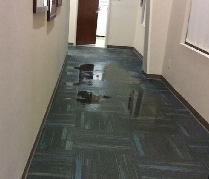 Commercial Property- Water Damage Before